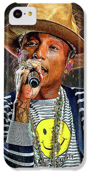 Pharrell Williams IPhone 5c Case