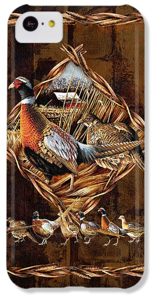 Pheasant iPhone 5c Case - Pheasant Lodge by JQ Licensing