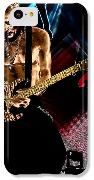Phil Collen Of Def Leppard 3 IPhone 5c Case by David Patterson