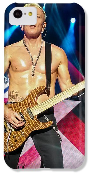 Phil Collen Of Def Leppard 5 IPhone 5c Case by David Patterson