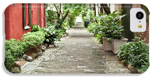 Philadelphia Alley Charleston Pathway IPhone 5c Case by Dustin K Ryan