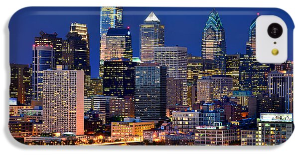 Philadelphia Skyline At Night IPhone 5c Case