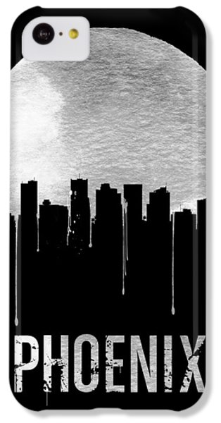 Phoenix Skyline Black IPhone 5c Case