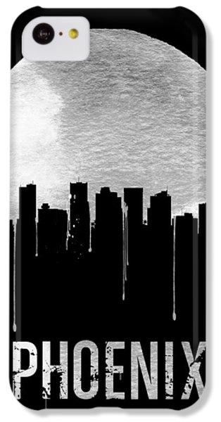 Phoenix Skyline Black IPhone 5c Case by Naxart Studio