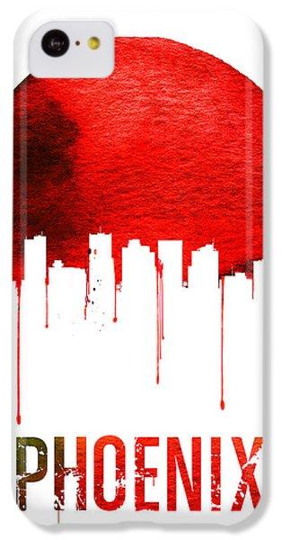 Phoenix Skyline Red IPhone 5c Case by Naxart Studio