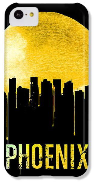 Phoenix Skyline Yellow IPhone 5c Case