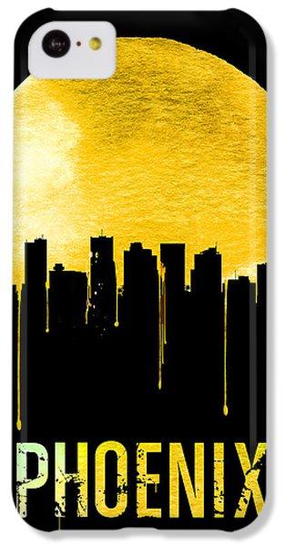 Phoenix Skyline Yellow IPhone 5c Case by Naxart Studio
