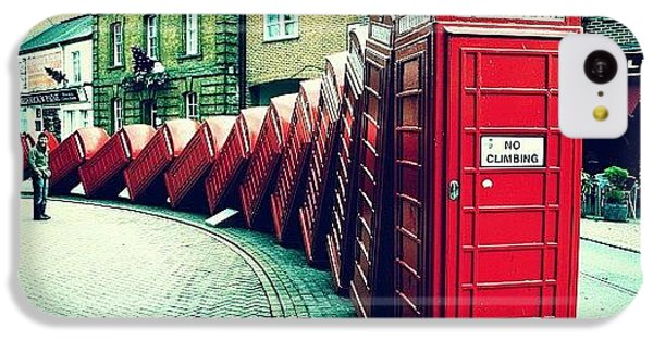 iPhone 5c Case - #photooftheday #london #british by Ozan Goren