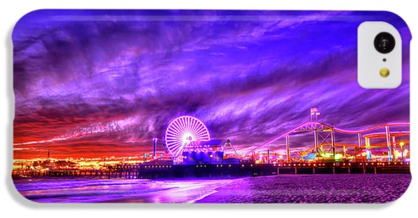 Pier Of Lights IPhone 5c Case by Midori Chan
