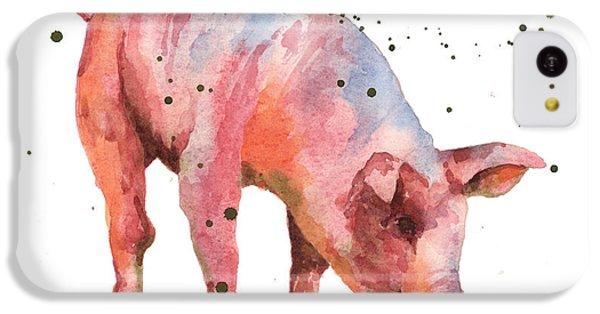 Pig Painting IPhone 5c Case
