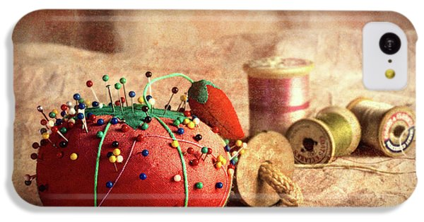 Pin Cushion And Wooden Thread Spools IPhone 5c Case