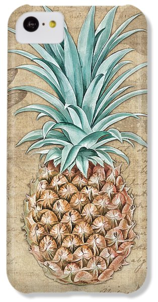 Pineapple, Ananas Comosus Vintage Botanicals Collection IPhone 5c Case