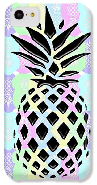 Pineapple Collage IPhone 5c Case by Liesl Marelli