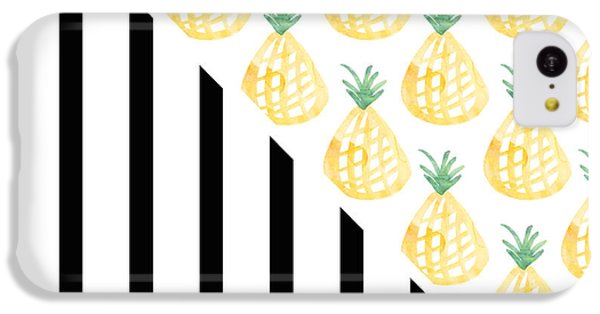 Pineapples And Stripes IPhone 5c Case