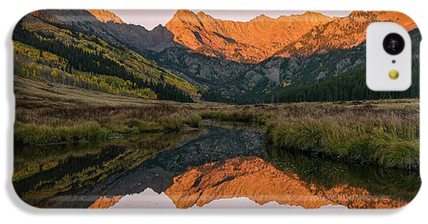 IPhone 5c Case featuring the photograph Piney River Panorama by Aaron Spong