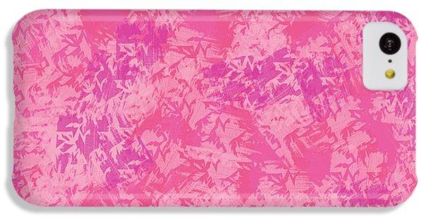 The Art Of Gandy iPhone 5c Case - Pink Elegance by Joan Ellen Gandy