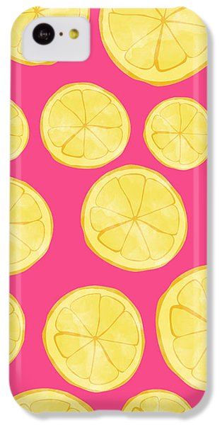 Pink Lemonade IPhone 5c Case by Allyson Johnson