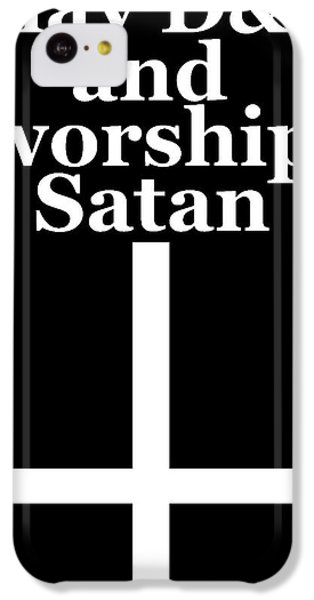 Dragon iPhone 5c Case - Play Dungeons And Dragons And Worship Satan by Zak S