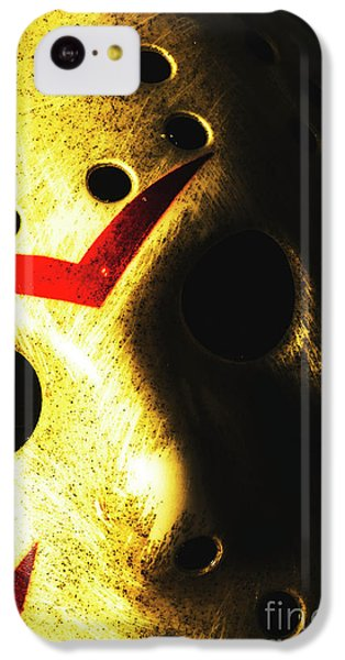 Hockey iPhone 5c Case - Playing The Intimidator by Jorgo Photography - Wall Art Gallery