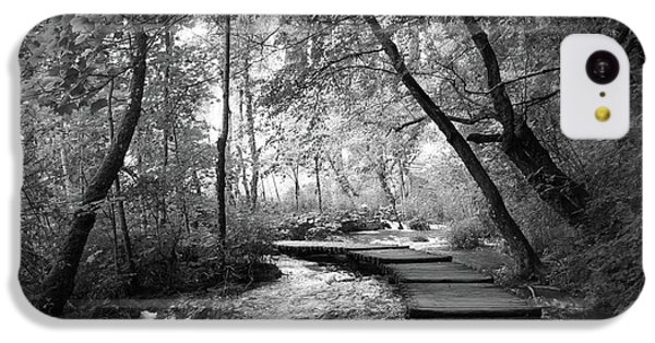 Plitvice In Black And White IPhone 5c Case