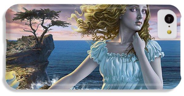 Raven iPhone 5c Case - Poe's Lenore by Mark Fredrickson