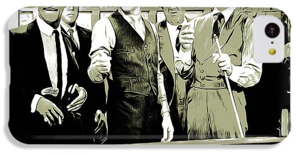 Frank Sinatra iPhone 5c Case - Pool Sharks by Greg Joens