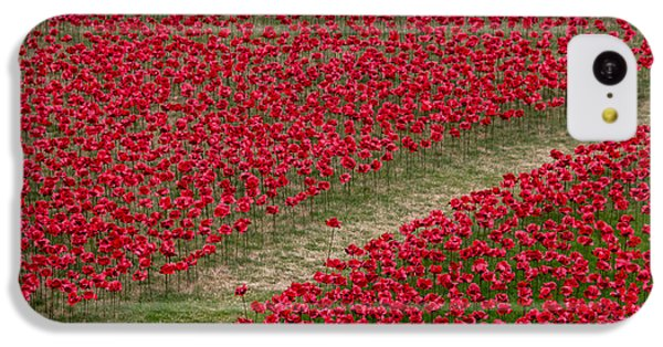 Poppies Of Remembrance IPhone 5c Case