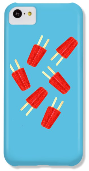 Desert iPhone 5c Case - Popsicle T-shirt by Edward Fielding