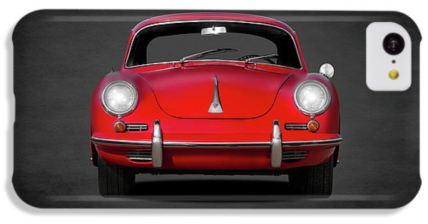 Transportation iPhone 5c Case - Porsche 356 by Mark Rogan