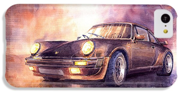 Transportation iPhone 5c Case - Porsche 911 Turbo 1979 by Yuriy Shevchuk