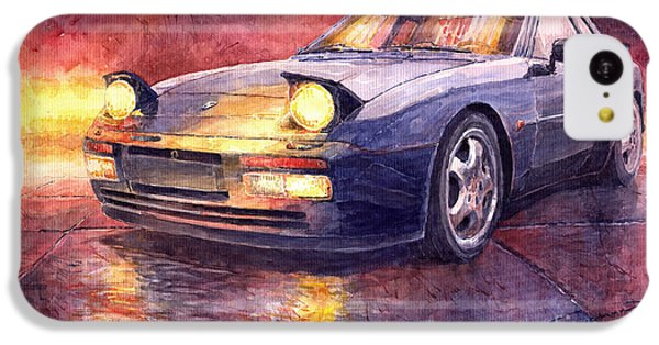 Porsche 944 Turbo IPhone 5c Case by Yuriy  Shevchuk