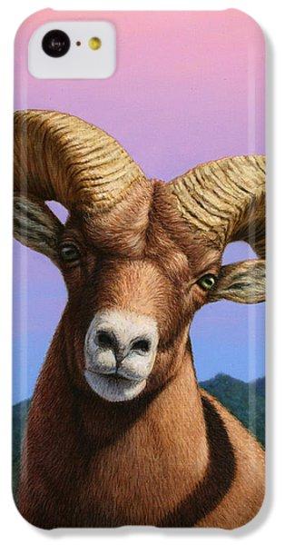 Portrait Of A Bighorn IPhone 5c Case