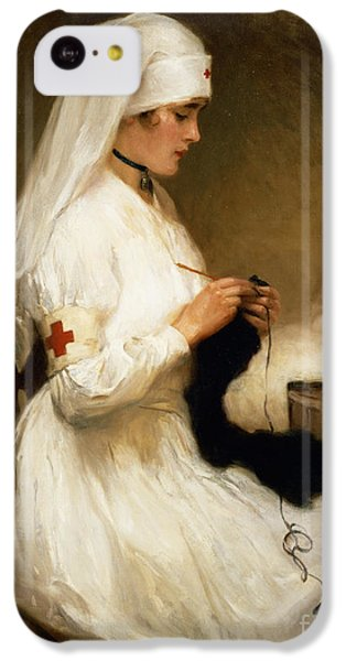 Portrait Of A Nurse From The Red Cross IPhone 5c Case