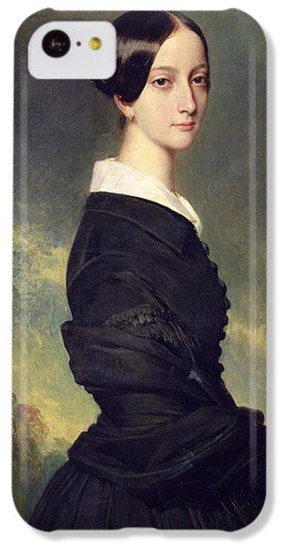 Portraits iPhone 5c Case - Portrait Of Francisca Caroline De Braganca by Franz Xaver Winterhalter