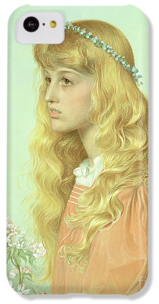 Portrait Of Miss Adele Donaldson, 1897 IPhone 5c Case by Anthony Frederick Augustus Sandys