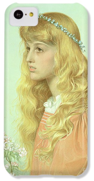 Portrait Of Miss Adele Donaldson, 1897 IPhone 5c Case by Anthony Frederick Augustus Sandys