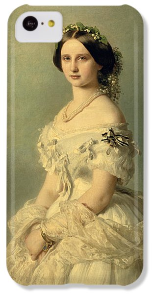 Portraits iPhone 5c Case - Portrait Of Princess Of Baden by Franz Xaver Winterhalter