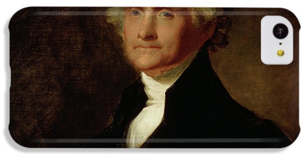 Portrait Of Thomas Jefferson IPhone 5c Case