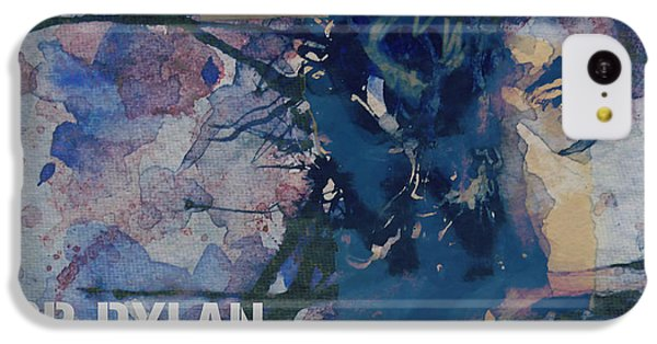Bob Dylan iPhone 5c Case - Positively 4th Street by Paul Lovering