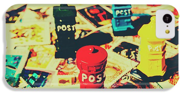 IPhone 5c Case featuring the photograph Postage Pop Art by Jorgo Photography - Wall Art Gallery