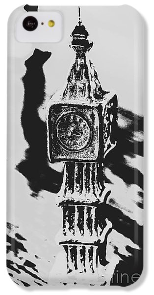 Big Ben iPhone 5c Case - Postcards From Big Ben  by Jorgo Photography - Wall Art Gallery