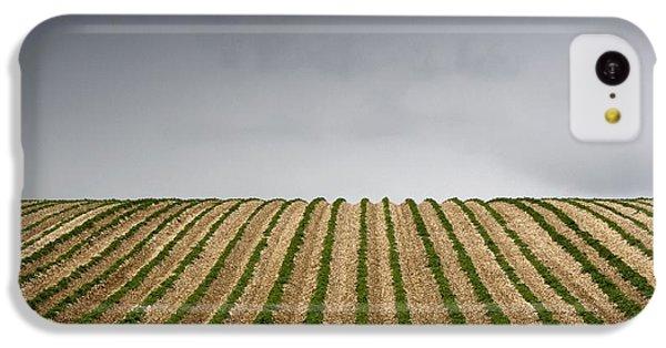 Potato Field IPhone 5c Case by John Short