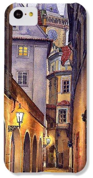 City Scenes iPhone 5c Case - Prague Old Street  by Yuriy Shevchuk