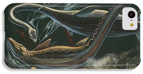 Prehistoric Marine Animals, Underwater View IPhone 5c Case by American School