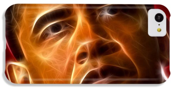 President Barack Obama IPhone 5c Case by Pamela Johnson