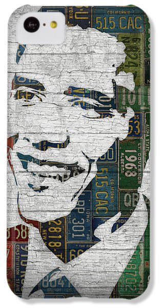 President Barack Obama Portrait United States License Plates Edition Two IPhone 5c Case