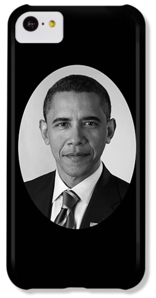 Barack Obama iPhone 5c Case - President Barack Obama by War Is Hell Store