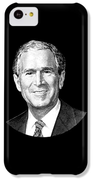 George Bush iPhone 5c Case - President George W. Bush Graphic by War Is Hell Store