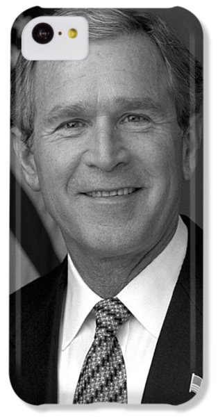 George Bush iPhone 5c Case - President George W. Bush by War Is Hell Store