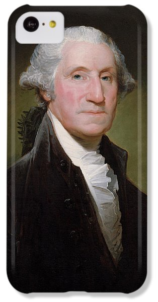 Landmarks iPhone 5c Case - President George Washington by War Is Hell Store